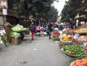 قارئ يشكو انتشار الباعة الجائلين بشارع نوبار فى السيدة زينب.. صور