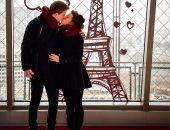 ماركا الإسبانية: برج إيفل رمز الرومانسية فى يوم الفالانتين