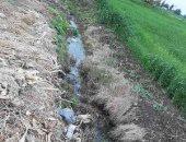 أهالى قرية البكوات بالبحيرة يطالبون بعمل مصرف للأرض الزراعية