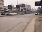 فيديو.. سيولة مرورية بالمهندسين وجامعة الدول العربية