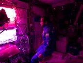 هزاع المنصورى يكشف عن تجربته فى العزلة الذاتية قبل السفر للفضاء