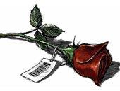 """كاريكاتير """"الشرق الأوسط"""".. كورونا يفسد الاحتفال بعيد الحب"""