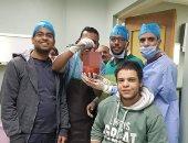 """فريق طبى ينجح فى استئصال ورم يزن 5 كيلو من """"خصية"""" مريض بقنا"""