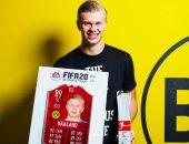 هالاند لاعب يناير فى الدوري الألماني بعد أول شهر مع بوروسيا دورتموند
