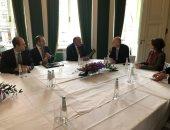 سامح شكرى يستعرض مع وزير خارجية هولندا مستجدات القضية الفلسطينية