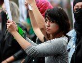 مظاهرات بالمكسيك احتجاجا على العنف ضد المرأة