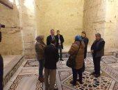 السفير الأمريكى يزور قلعة قايتباى ومتحف الأحياء المائية خلال جولته بالإسكندرية