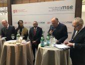شكري يستعرض رؤية مصر للتحديات بمنطقة شمال شرق أفريقيا خلال مؤتمر ميونخ للأمن