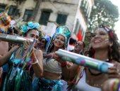 آلاف البرازيليين يشاركون فى كرنفال ريو دى جانيرو الأكبر فى العالم