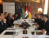 أبو الغيط يؤكد لرئيس وزراء إقليم كردستان العراق عمق الروابط العربية-الكردية
