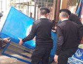 رفع 989 حالة اشغال طريق وتحرير 99 محضرا خلال حملة مرافق بطنطا