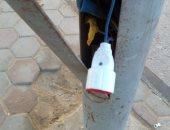 شكوى من انتشار الباعة الجائلين فى حدائق أكتوبر  وسرقة التيار الكهربائى