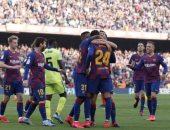 برشلونة يهز شباك خيتافى بثنائية فى الشوط الأول بالدوري الاسباني.. فيديو