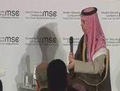 وزير الخارجية السعودى: المملكة تفضل الحل السياسى فى اليمن