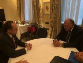 وزير الخارجية يبحث مع نظيره النمساوي سبل حلحلة الأزمة الليبية