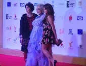 صور.. وصول نجوم الفن والسينما لحفل ختام مهرجان اسوان لأفلام المرأة