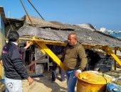مهلة أسبوع لمركز الغوص بالإسكندرية لوضع واجهات زجاجية لعدم حجب رؤية البحر