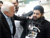 محافظ بورسعيد يتابع سير العمل بمستشفي السلام (صور)