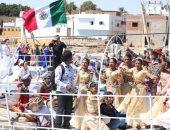 وزيرة الثقافة تطلق فعاليات مهرجان أسوان الدولى الثامن بمشاركة 400 فنان
