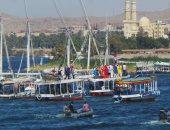 وزيرة الثقافة تشهد انطلاق مهرجان أسوان للثقافة والفنون بعروض نيلية