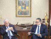 وزير السياحة ومحافظ جنوب سيناء يضعان خطة للترويج السياحى لمدينة شرم الشيخ