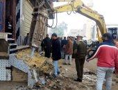 صور.. إزالة 85 حالة تعدى على أملاك الدولة وحرم السكة الحديد بالشرقية والإسكندرية