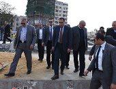 رئيس الوزراء يتفقد أعمال تطوير ميدان التحرير والمنطقة الاستثمارية ببنها