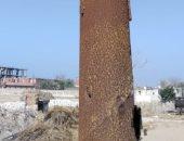 أهالى قرية الـ7 بالشرقية يشكون من 3 أعمدة إنارة تالفة وتسبب خطر على المارة