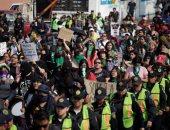 مسيرات احتجاجية فى المكسيك احتجاجا على العنف ضد المرأة