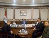 محمد منار يبحث مع رئيس نادى الطيران ملفات الدعم خلال الفترة المقبلة