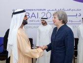 حاكم دبى يؤكد حرص الإمارات على العمل مع بريطانيا لتدعيم آفاق التعاون المشترك