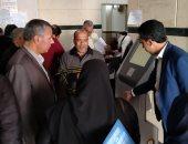 صور.. رئيس مدينة طور سيناء يفقد المركز التكنولوجى وتقديم الخدمات المواطنين
