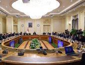 """صور.. مصطفى مدبولى يناقش مع 7 وزراء الموقف التنفيذى لمبادرة """"حياة كريمة"""""""