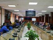 مستشفى بنها الجامعي تنظم ورشة عمل للتوعية والوقاية من الإصابة بفيروس كورونا