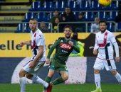 """نابولي يستعيد ذاكرة الإنتصارات بفوز صعب على كالياري بالدوري الإيطالي """"فيديو"""""""