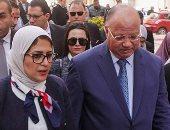 صور.. محافظ القاهرة: نستهدف تطعيم مليون و844 ألف طفل بالعاصمة