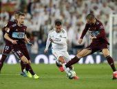 ريال مدريد ضد سلتا فيجو.. الملكي يتعطل بتعادل مثير فى الدوري الإسباني.. فيديو