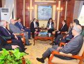 وزيرة الهجرة تستقبل وفدا من المصريين بالخارج لبحث مشاركتهم بإنشاء مدينة طبية عالمية