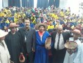 مسرح القرية.. فعاليات لذوى الهمم والأطفال فى قرية المنيرة بالوادى الجديد
