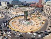 إنجاز 90 % من أعمال تطوير ميدان التحرير .. صور