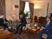 أبو الغيط يلتقى مبعوثى الأمم المتحدة لكل من اليمن وسوريا