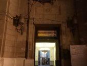 جامعة القاهرة: حريق كنترول كلية الحقوق بسبب ماس كهربائى ولا يوجد خسائر