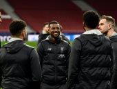 """أتليتكو مدريد ضد ليفربول.. نجوم الريدز يتفقدون ملعب """"واندا متروبوليتانو"""""""