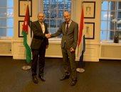 وزير الخارجية الأردنى يجرى مباحثات مع نظيره الهولندى