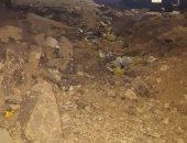 حفرة تهدد المارة.. شكوى سكان شارع حافظ رمضان بمدينة نصر