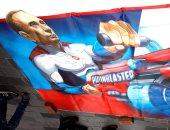 """""""بوتين الخارق"""" يغزو شوارع إسطنبول وبلدية المدينة تزيل اللوحات.. التفاصيل"""