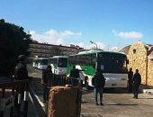 """صور.. إجلاء 617 شخصاً من الحجر الصحى بمطروح بعد تأكد خلوهم من """"كورونا"""""""