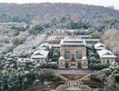 """الثلوج تضفى """"اللون الأبيض"""" على مدينة ووهان الصينية منبع انتشار  كورونا"""