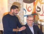 فيديو خالد سليم يحيى فعاليات أيام القاهرة للدراما العربية بباريس
