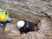 صدق أو لا تصدق.. جدران بنيت من عظام الموتى فى القرن السابع عشر ببلجيكا